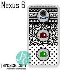 Three Cute Elephants Aztec Phone case for Nexus 4/5/6