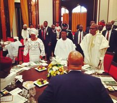Queen of the Naija Blog: Pictures from President Buhari's hosting of visiti...