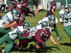 CLINTON RANDALL/Advocate photo The Lebanon Warriors junior varsity football team traveled to the Wave's home field, handing Greenville a 43-12 loss.#advocate360