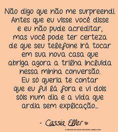 O Segundo Sol - Cássia Eller Lyrics, Image, Wall Decor, Singers, Sun, Other, Comic Strips, Life, Second Best