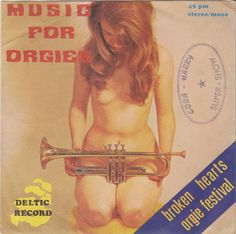 Music For Orgies - Deltic Record - Belgium - 45cat - Cash-Makers Orchestra