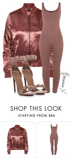 """Untitled #3069"" by breannamules ❤ liked on Polyvore featuring Topshop and Alaïa"