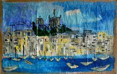 Maison de ventes aux enchères en ligne Catawiki: Céline Bron- Marseille, Notre Dame de la Garde