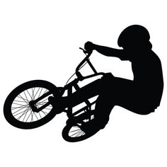 BMX bike wall decal bike art bike wall decorations by Strideza