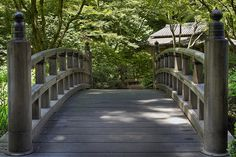 Bridge at Portland Japanese Garden - HDR by David Gn Photography, via Flickr