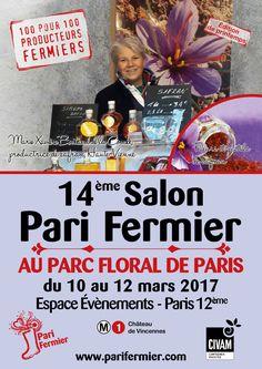14ème salon Pari Fermier de printemps au Parc Floral de Paris (12ème)