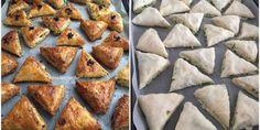 Üçgen Börek Tarifi | Sosyal Tarif French Toast, Bakery, Good Food, Pie, Breakfast, Voodoo, Crack Crackers, Turkish Language, Yummy Cakes