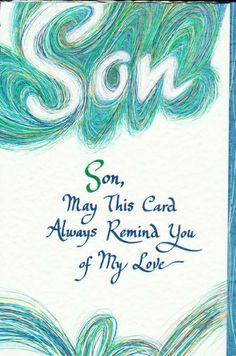 Blue Mountain Arts Greeting Card THINKING OF YOU SON BlueMountainArts ThinkingofYou