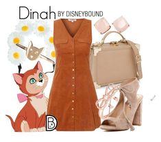"""Dinah"" by leslieakay ❤ liked on Polyvore featuring Kate Spade, Aspinal of London, Glamorous, La Preciosa, Karen Walker, Steve Madden, disney and disneybound"
