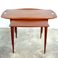 Danish Modern Set of Nesting Tables by Jens Quistgaard.