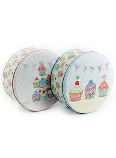 20x9 Round Cupcake Tin 2ast @ rosefields.co.uk