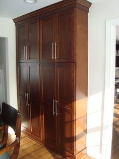 Tall Shallow Storage Cabinet