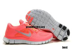 Nike Free Run 3 Hot Punch Pink Pro Silver Sol Volt Running Shoes 2013   #Pink #Womens #Sneakers