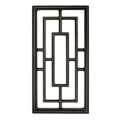Nuvo Iron Rectangle Decorative Insert for Fencing,Gates, Doors,Home,Garden for sale online Iron Window Grill, Window Grill Design Modern, Grill Door Design, Door Gate Design, Iron Windows, Iron Doors, Door Grill, Gate Decoration, Wooden Gates