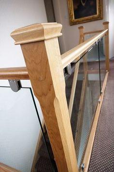 Modern Oak & Glass Staircases - Neville Johnson Staircases