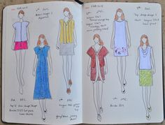 the paper doll project - this is a fabulous idea