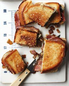 Super Bowl // Bacon–Blue Cheese Sandwiches Recipe