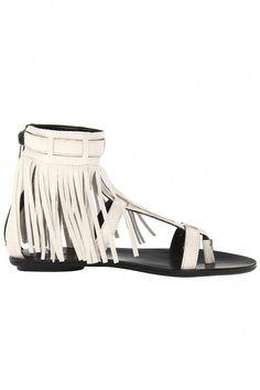 7fc88edca98b western style sandals  white  flat  sandals  turquoisejewelryfacts Fringe  Sandals