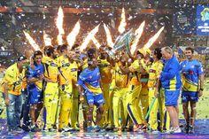 writeanbhu : Chennai Super Kings -  Champions of CLT20 - 2014