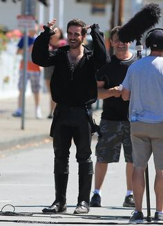 #Colin #OUAT on set !