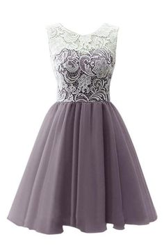 Dresstells® Short Tulle Prom Dress Bridesmaid Dress Party Dress with Lace Black Size 6 Lace Homecoming Dresses, Tulle Prom Dress, Sexy Dresses, Cute Dresses, Short Dresses, Fashion Dresses, Bridesmaid Dresses, Dress Lace, Party Dresses