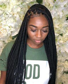 long box braids 10 Super Box Braids Hairstyles And Haircuts : Best Box Braids Hairstyles Twist Braid Hairstyles, Black Girl Braids, Braided Hairstyles For Black Women, African Braids Hairstyles, Braids For Black Hair, Girls Braids, Girl Hairstyles, Braids For Black Women Box, Small Box Braids Hairstyles