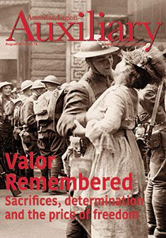 Auxiliary magazine, Vol. American Legion Auxiliary, American Legions, Extraordinary People, The Unit, Motivation, Magazine Covers, War, Girls, Daughters
