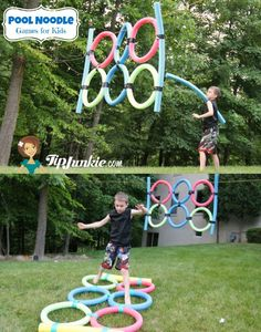 Pool noodles are super affordable and the perfect ingredient for summer family fun on a budget. Check out these 10 easy and affordable crafts and games you can do with your kids this summer using pool noodles.