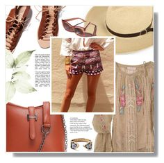"""""""Ale! Ale! Ale!"""" by wannanna ❤ liked on Polyvore featuring Ancient Greek Sandals and Garance Doré"""