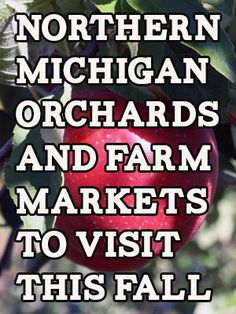 Northern Michigan Orchards And Farm Markets To Visit This Fall Michigan Travel, State Of Michigan, Northern Michigan, Lake Michigan, Munising Michigan, The Mitten State, Apple Farm, Toledo Ohio, Upper Peninsula