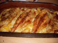 pangasius na smotane a zemiakoch French Toast, Breakfast, Food, Morning Coffee, Eten, Meals, Morning Breakfast, Diet
