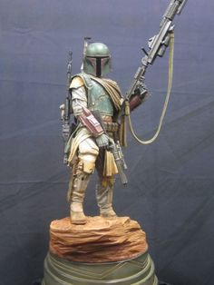 Boba Fett by Sideshow Collectibles - 2012 SDCC  #starwars #bobafett #sideshowcollectibles #sdcc