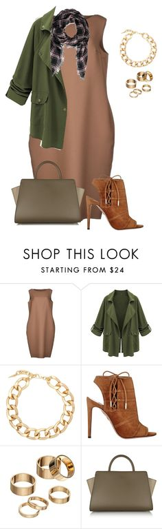 plus size fall chic by kristie-payne on Polyvore featuring Sofie D'hoore, Aquazzura, ZAC Zac Posen, Fallon, Apt. 9 and Forever 21
