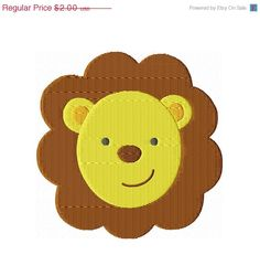 4000 Fan SALE Instant Download 4X4 Lion by BreezyLaneEmbroidery, $1.00