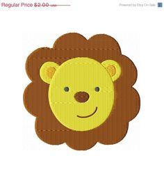 4000 Fan SALE Instant Download 4X4 Lion by BreezyLaneEmbroidery, $1.00