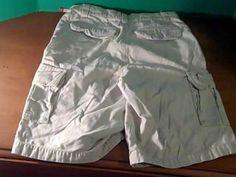 Bugle Boyjeans Co Mens Tan Cargo Pants Shorts Size 10 Husky 100 Cotton | eBay