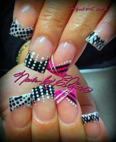 . Acrylic nails