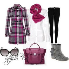 Latest Outfits for Women Fall Winter 2013  Not with those shoes. Maybe black slacks too....