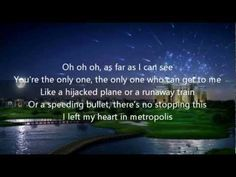 <3 <3 <3 <3 Owl City - Metropolis Lyrics - YouTube ~~ A thousand miles feels like a million years like hundreds of postcards that say I wish you were here. <3 <3 <3 <3