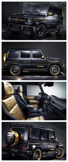 OMG! The World's Most Expensive SUVs. Check out the the most extravagant Mercedes-Benz G65 AMG you will ever see! #Hamann