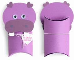 I think I'm in love with this shape from the Silhouette Design Store! Toilet Roll Craft, Toilet Paper Roll Crafts, Diy Crafts For Kids, Art For Kids, Ideas Para Decorar Jardines, Valentine Box, Valentine Pillow, Pillow Box, Animal Pillows
