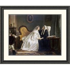 Global Gallery 'Some Good Advice' by Hendrik Jacobus Scholten Framed Painting Print Size: