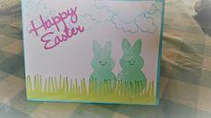 samantha  designs: Peep Easter Card