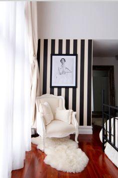 Love interior stripy