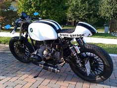 Cafe Racer Special: Franzgarage BMW Cafè Racer side mirrors