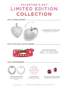 Origami Owl Custom Jewelry. Our Limited Edition Valentine's Day Collection arrives 1/4/18: http://ltl.is/bylvs
