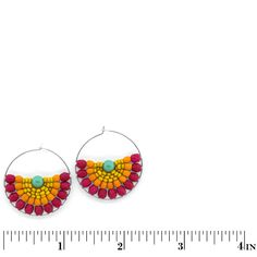 Color Splash Earrings   Fusion Beads Inspiration Gallery