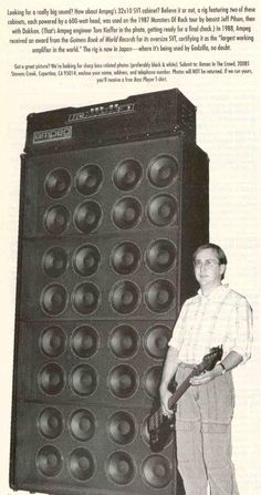 wall of ampeg - Google Search