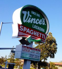 Vince's Spaghetti of Torrance to close 2014