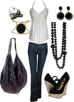 Blue Jeans, created by wherecoconutgrows on Polyvore